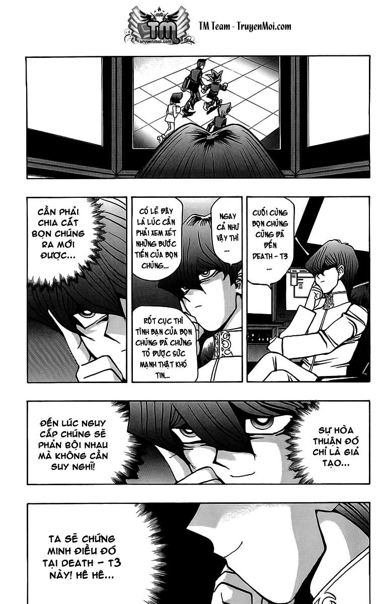 YUGI-OH! chap 33 - những ô vuông đáng sợ trang 4