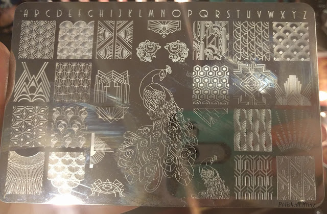 stamping plate