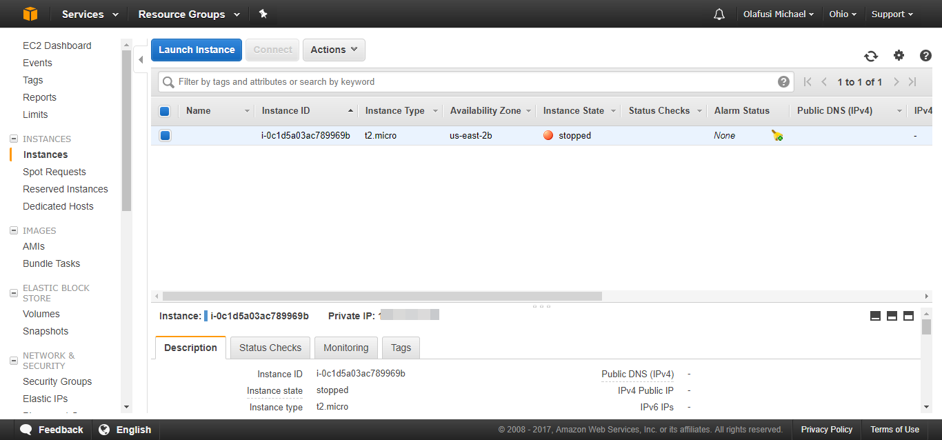 Setting Up My First Amazon Web Services (AWS) Virtual
