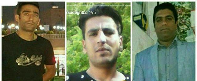 شهیدان قیام دی ۹۶ دورود-محسن ویرایشی محمد چوباک حسین رشنو