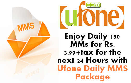 Ufone Daily MMS Package