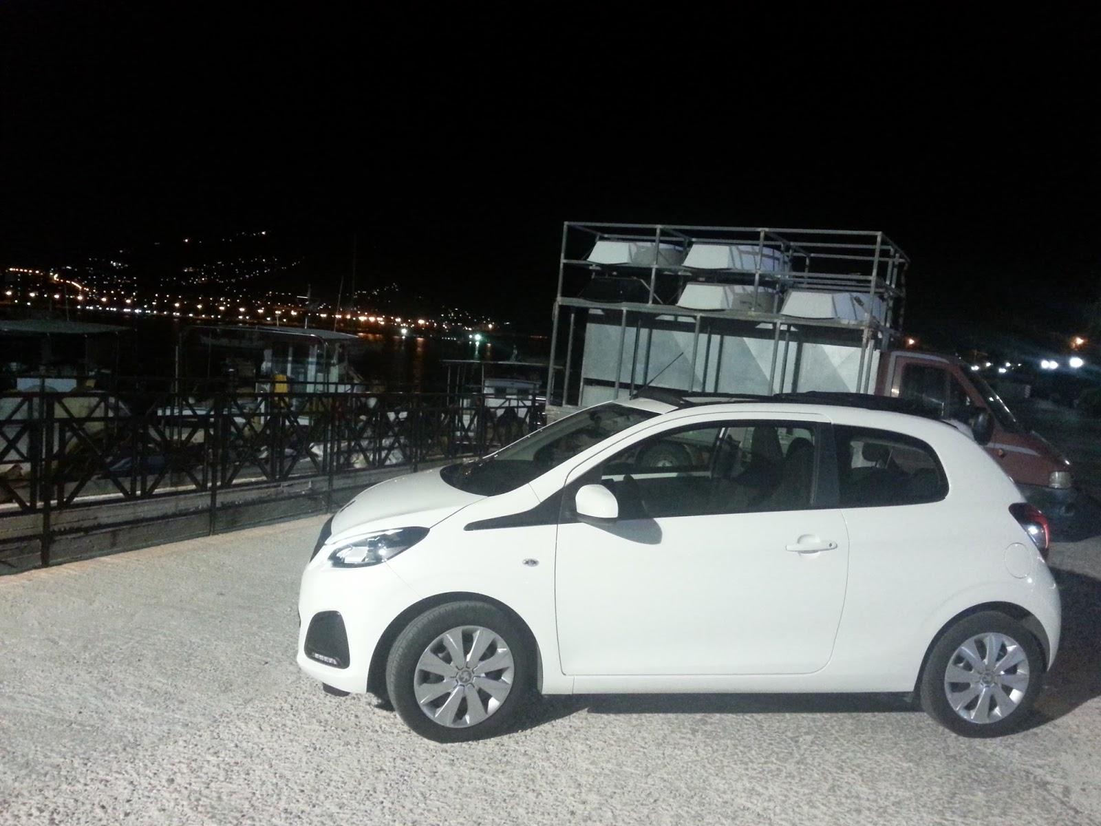 f2 Χιλιάρι Peugeot 108 χωρίς οροφή: Λέει;