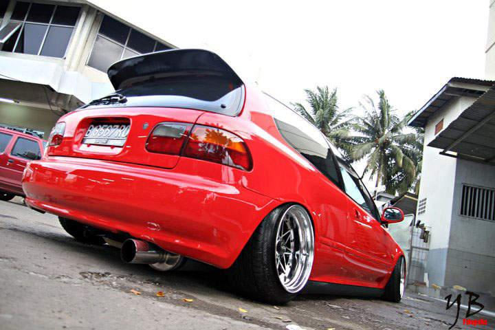 Mercedes >> Amazing HellaFlush Honda Estilo