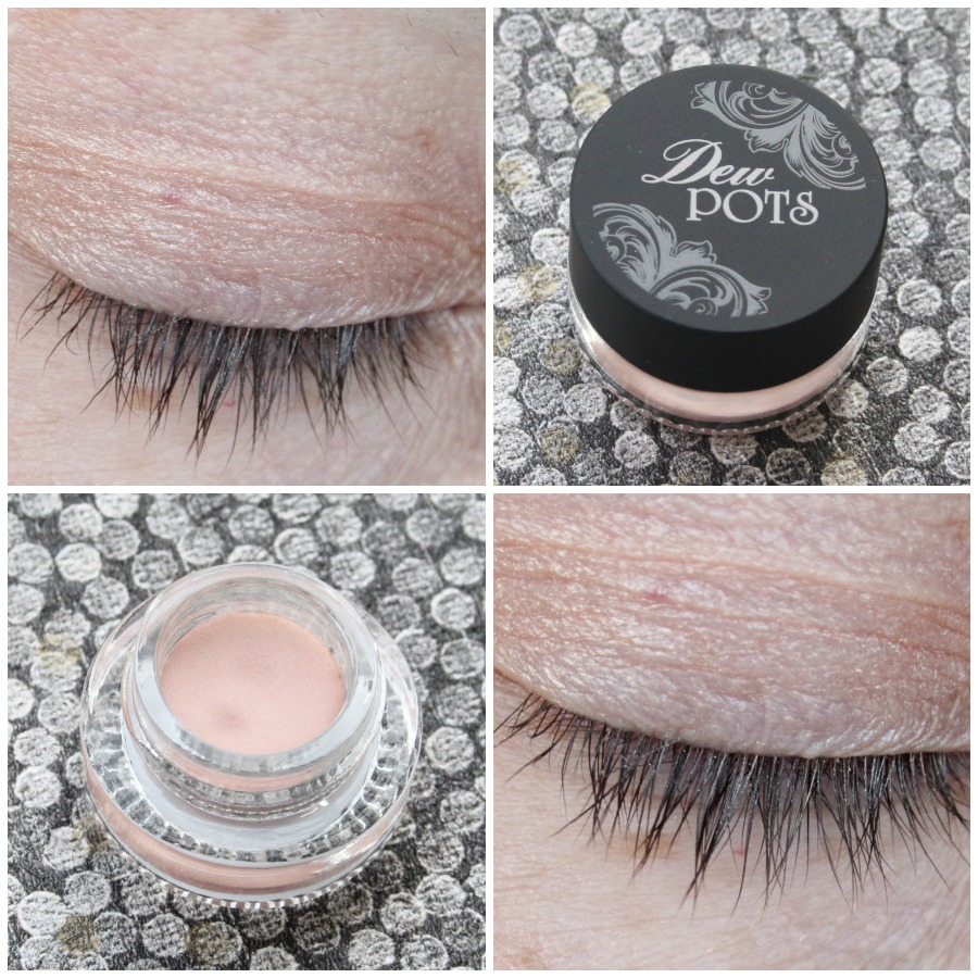 MeMeMe Dew Pot in Coral Blossom swatches