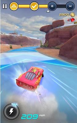 Cars Lightning League v1.02 MOD (Unlimited Blueprints/Fuel/Lightning Bolt/More)