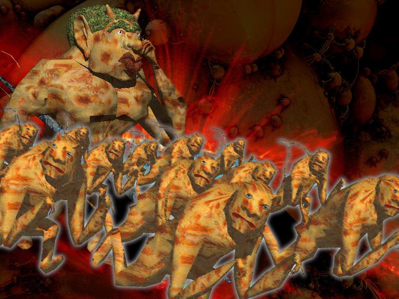 地獄歩兵隊
