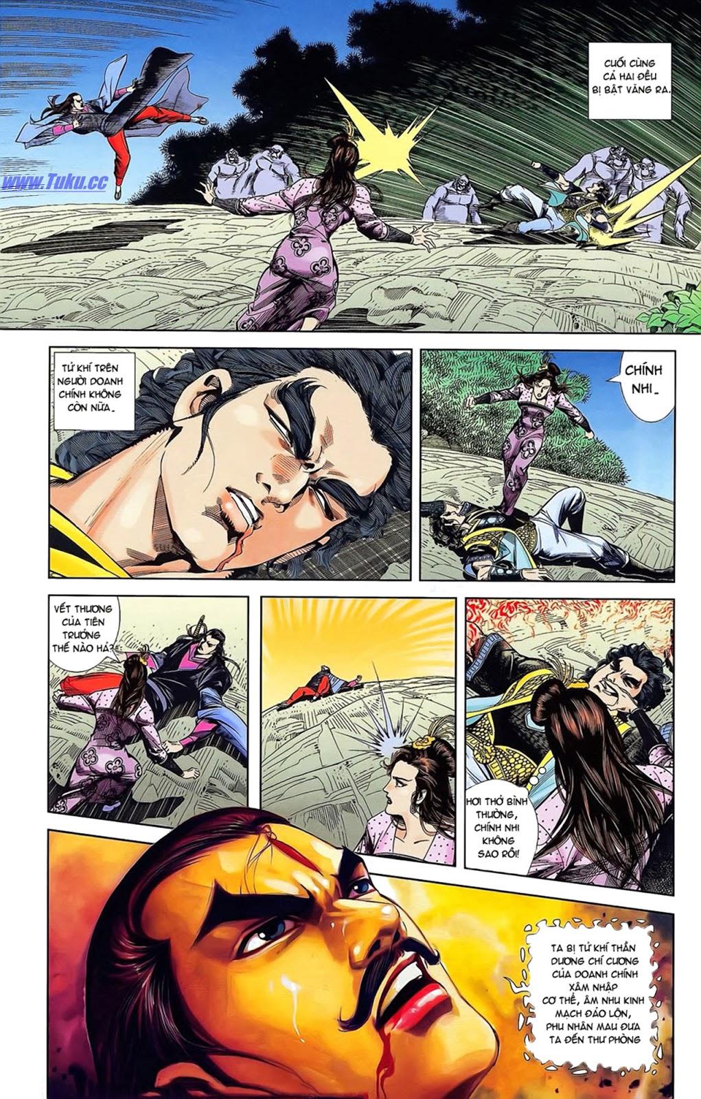 Tần Vương Doanh Chính chapter 15 trang 28