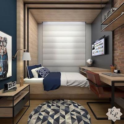 desain kamar yang cocok untuk anak laki-laki