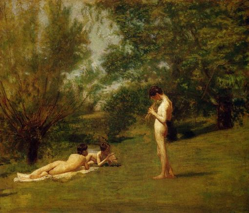 """""""Arcadia""""  Thomas Eakins"""
