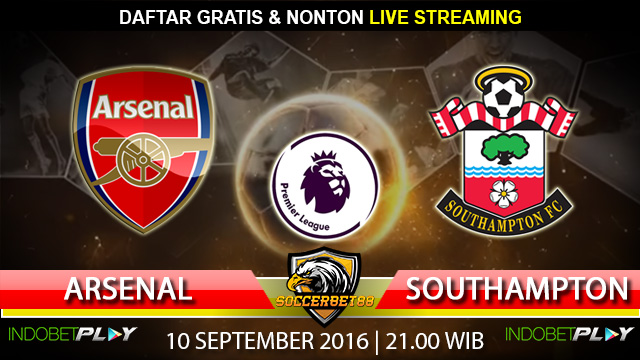 Prediksi Arsenal vs Southampton 10 September 2016 (Liga Inggris)