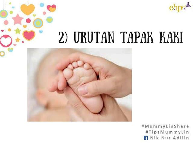 urutan bayi, cara mengurut bayi, cara atasi masalah bayi perut kembung