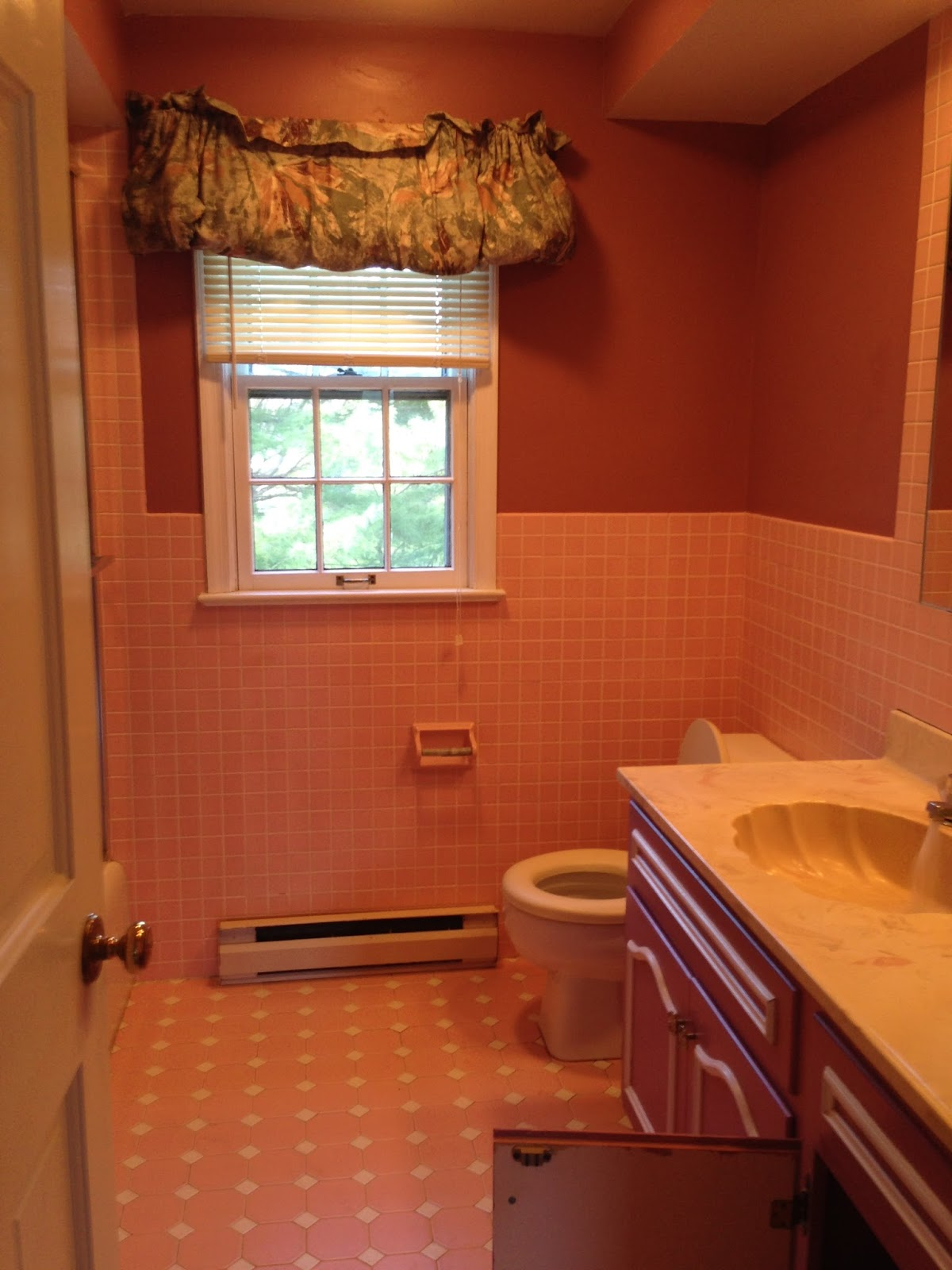 Loveyourroom My Pink 1970s Bathroom Gets Renovated