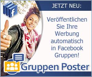 Facebook-Gruppenposter
