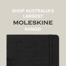 Australia's largest Moleskine range at Notemaker.