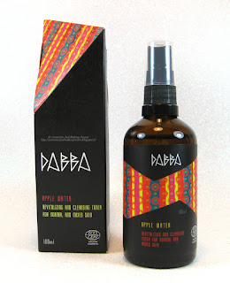 DABBA Cosmetics - Apple Water (Acqua floreale di Mela) - packaging