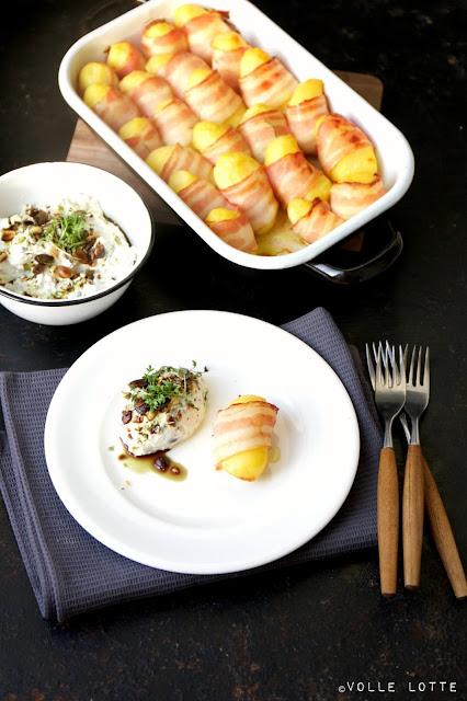 Quark, Haus Bollheim, Bio, Kartoffeln, Speck, kochen, einfach, Kresse