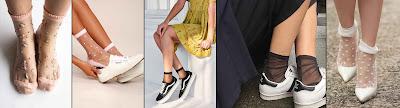 Top Trends sheer socks Womens style 2018