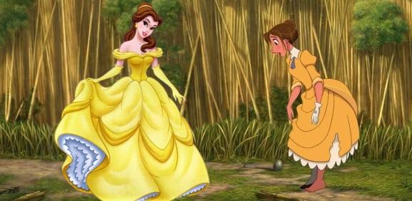 Piękna i Bestia są dziadkami Jane z Tarzana