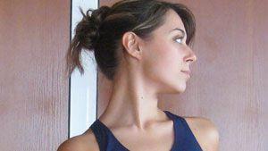 senam leher, peregangan leher, neck stretching