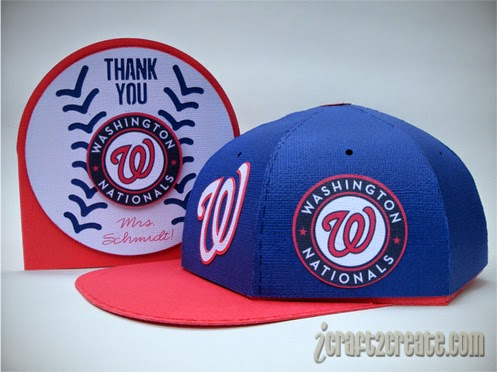 Washington Nationals, baseball cap, teacher appreciation, SVGCuts, Lettering Delights, Thin Fonts, sports, baseball