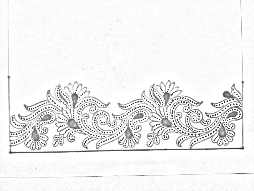 Pencil Drawings Flower Design Drawing How To Draw A Flower