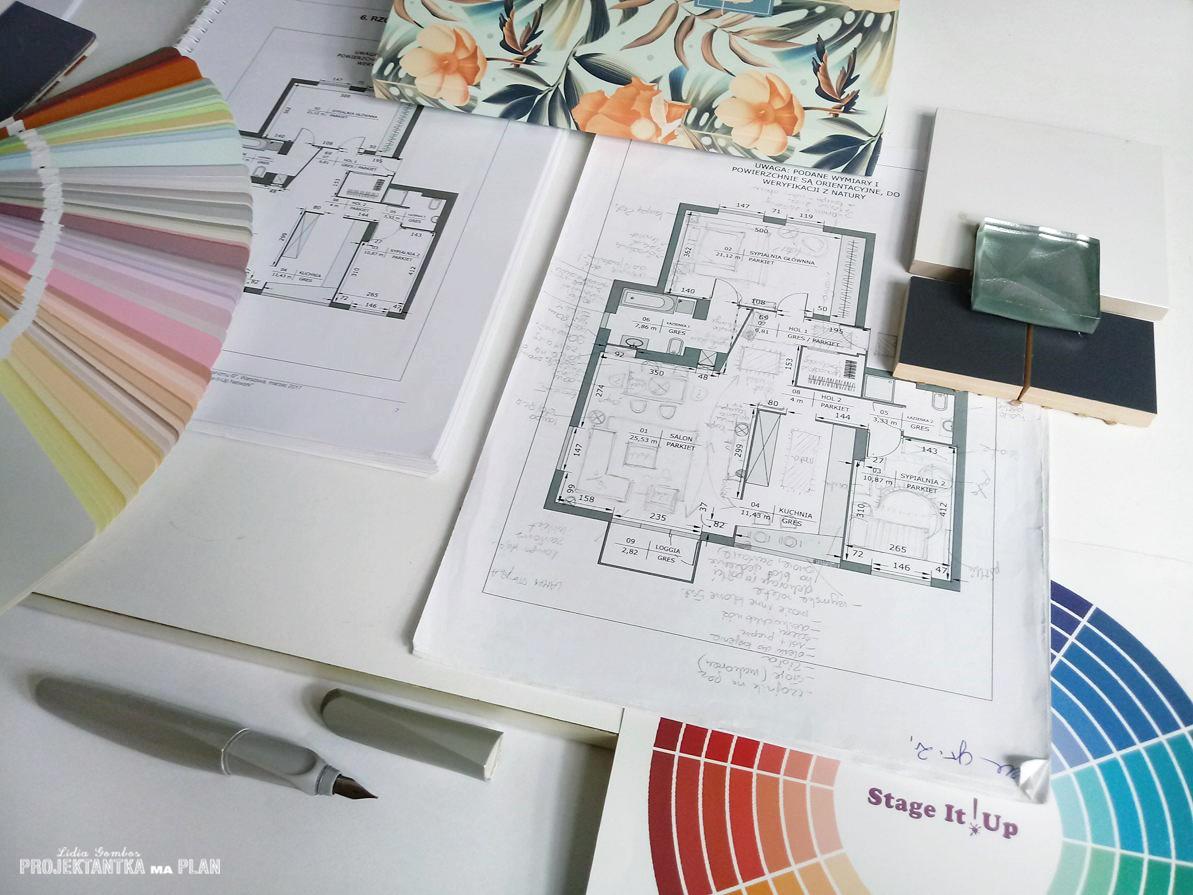 Rozkład funkcjonalny mieszkania - kurs home stagingu - Projektantka ma PLAN