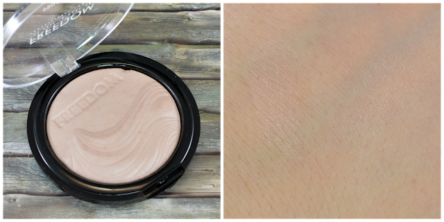 Freedom Make Up pro highlight ambient Swatch