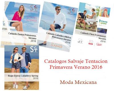 Salvaje Tentacion Catalogos 2016 PV