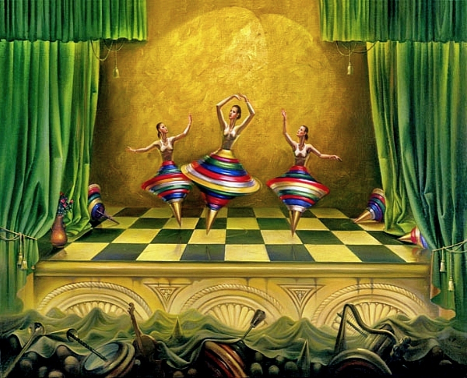 10-Three-Graces-Vladimir-Kush-Surrealism-Allows-Travel-Through-Paintings-www-designstack-co