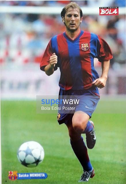 Poster Gaizka Mendieta (FC Barcelona)