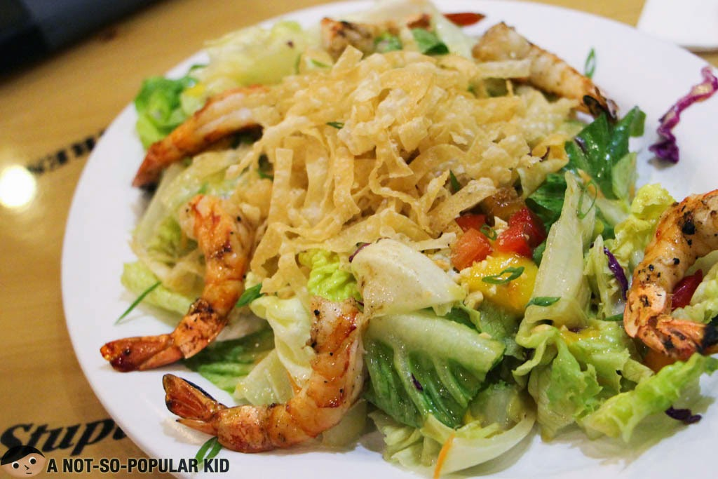 Refreshing Salad of Bubba Gump Restaurant