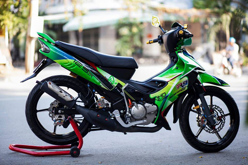 Yamaha Z125 độ cực ngầu tại Sài Gòn
