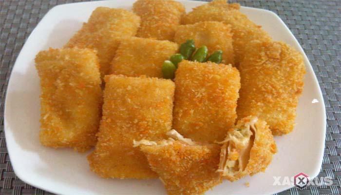 Resep cara membuat risoles ragout ayam sayur