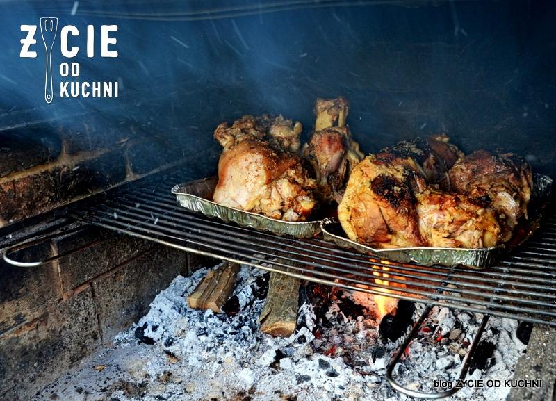 grill, grillujemy, golonka, golonka z grilla, co na grill, dania z grilla, piwo, golonka w piwie, blog, zycie od kuchni, majowka, weekend, jak grillowac
