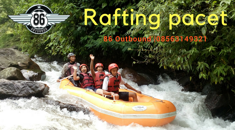 Rafting Pacet 86Outbound