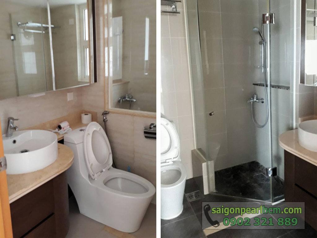 Saigon Pearl R2 lầu cao cho thuê 2 phòng ngủ full nội thất - hình 7