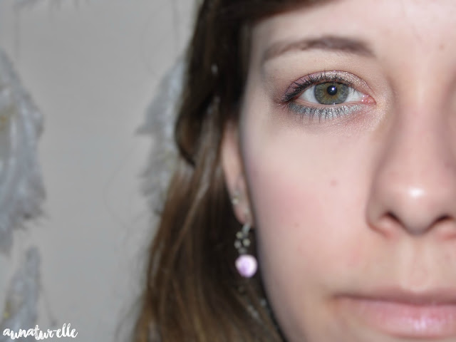 MSC : green & purple makeup