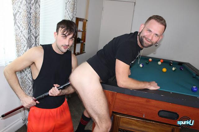 SpunkU - MASON AND JOSH IN THE CORNER POCKET
