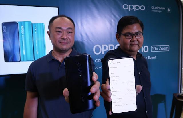 Seri Baru OPPO Reno 10x Zoom, Segera Hadir di Indonesia