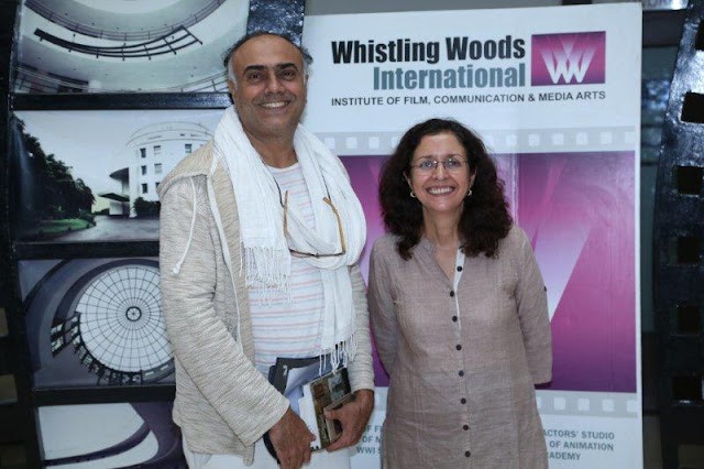 """To thee own self be true"", says Rajit Kapur addressing the students at Whistling Woods International"