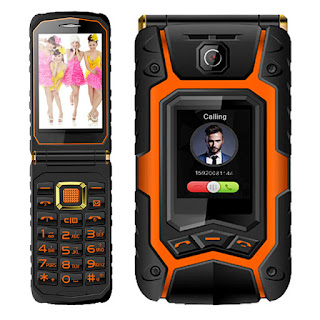 Spesifikasi Hape Outdoor Landrover X9 Flip Phone