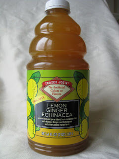 Trader Joe's Lemon Ginger Echinacea juice