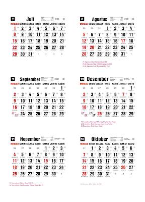 Kalender Tahun 1993 : kalender, tahun, Kalender, Desember