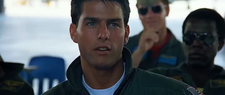 Screen Shot Of Top Gun (1986) Dual Audio Movie 300MB small Size PC Movie