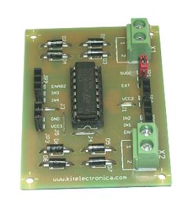 Puente H kit electrónica.