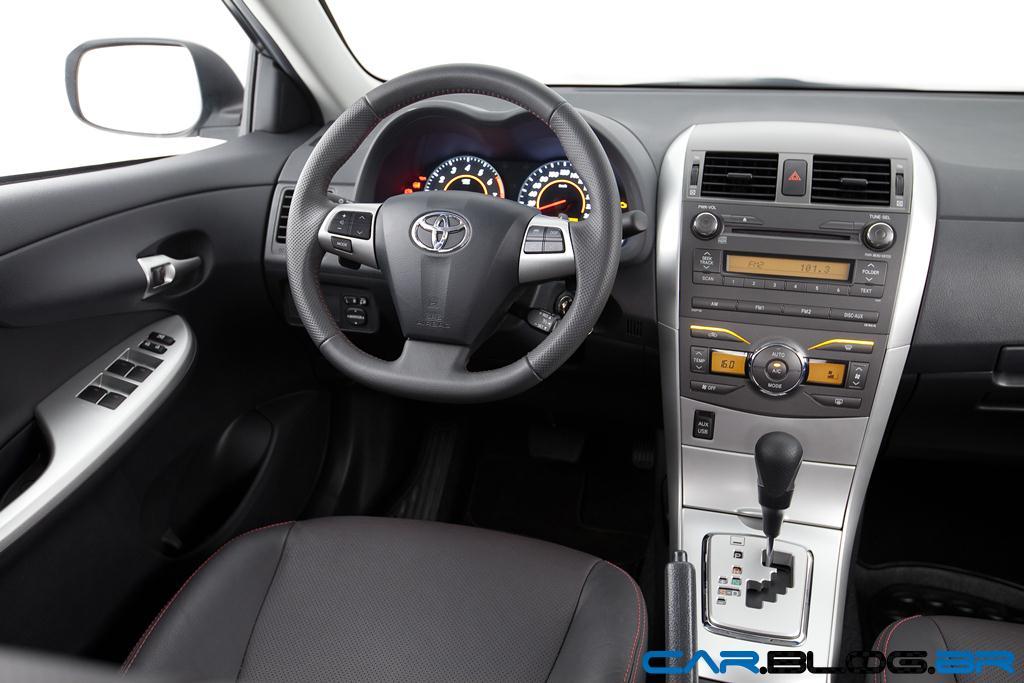Toyota Corolla 2013 Xrs Fotos Pre O Consumo E Ficha T Cnica Car Blog Br