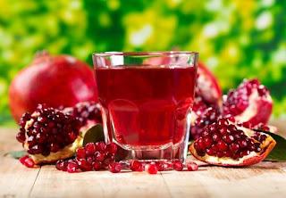 فوائد عصير الرمان