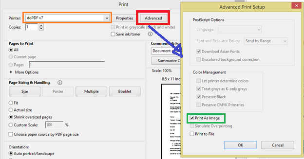 Berbagi Pengetahuan Cara Menggunakan Download Software Dopdf V7 Membuat Isi File Pdf Menjadi Gambar Agar Tidak Bisa Di Copy Paste