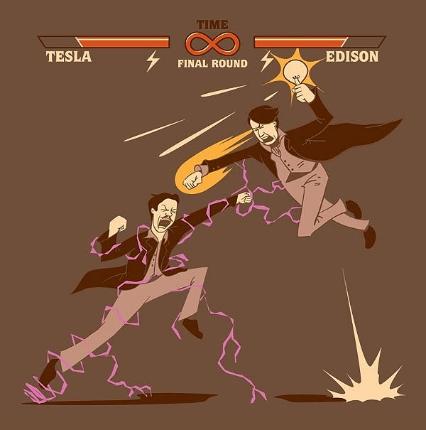 Tesla vs Edson