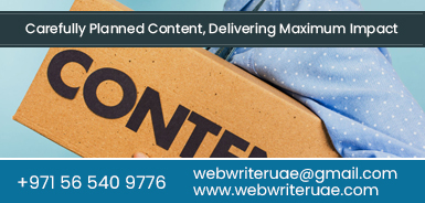 Content Writing Agencies Dubai